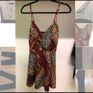 Tribal print Dress sz S